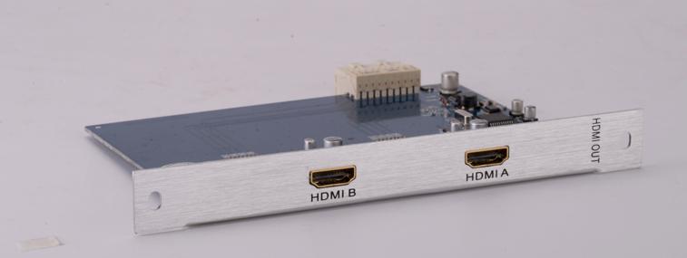 2路HDMI输出卡 QI-1017