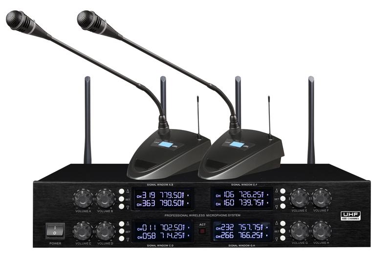 DI-3808 无线会议话筒(一拖八).