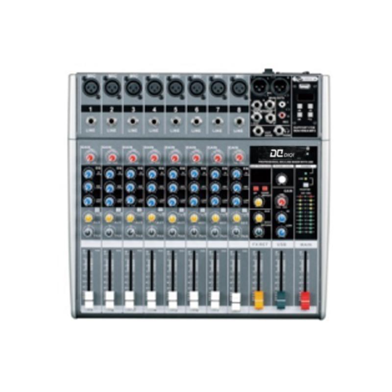 QI-6800 8路调音台