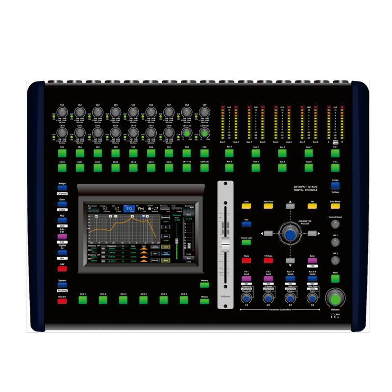 QI-6200K 20路数字调音台